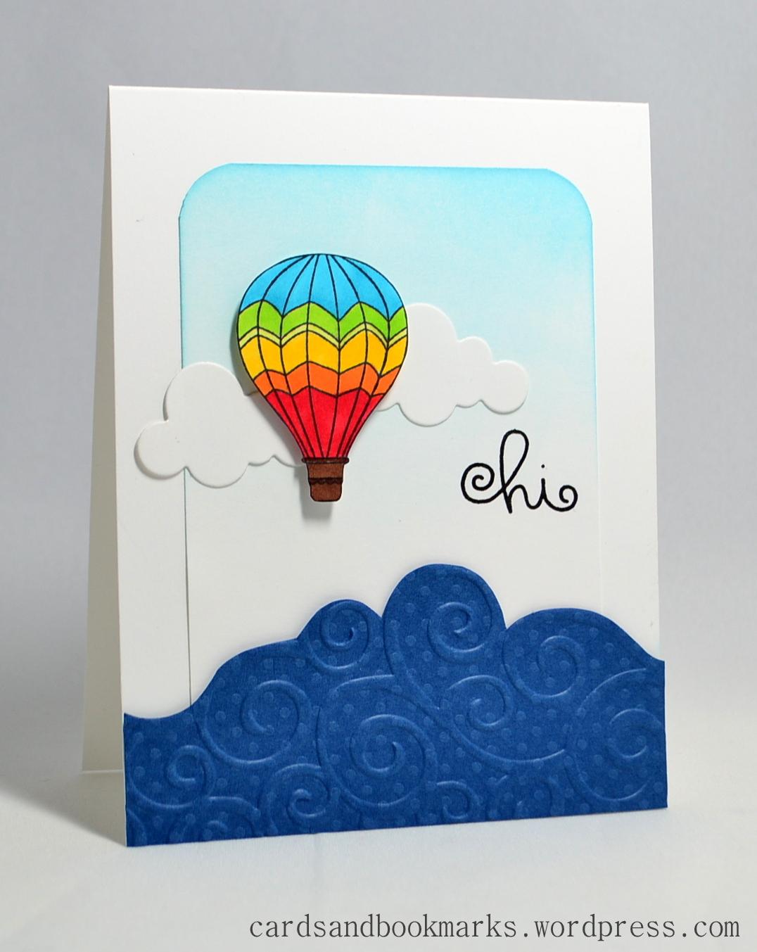 Воздушный шар открытки