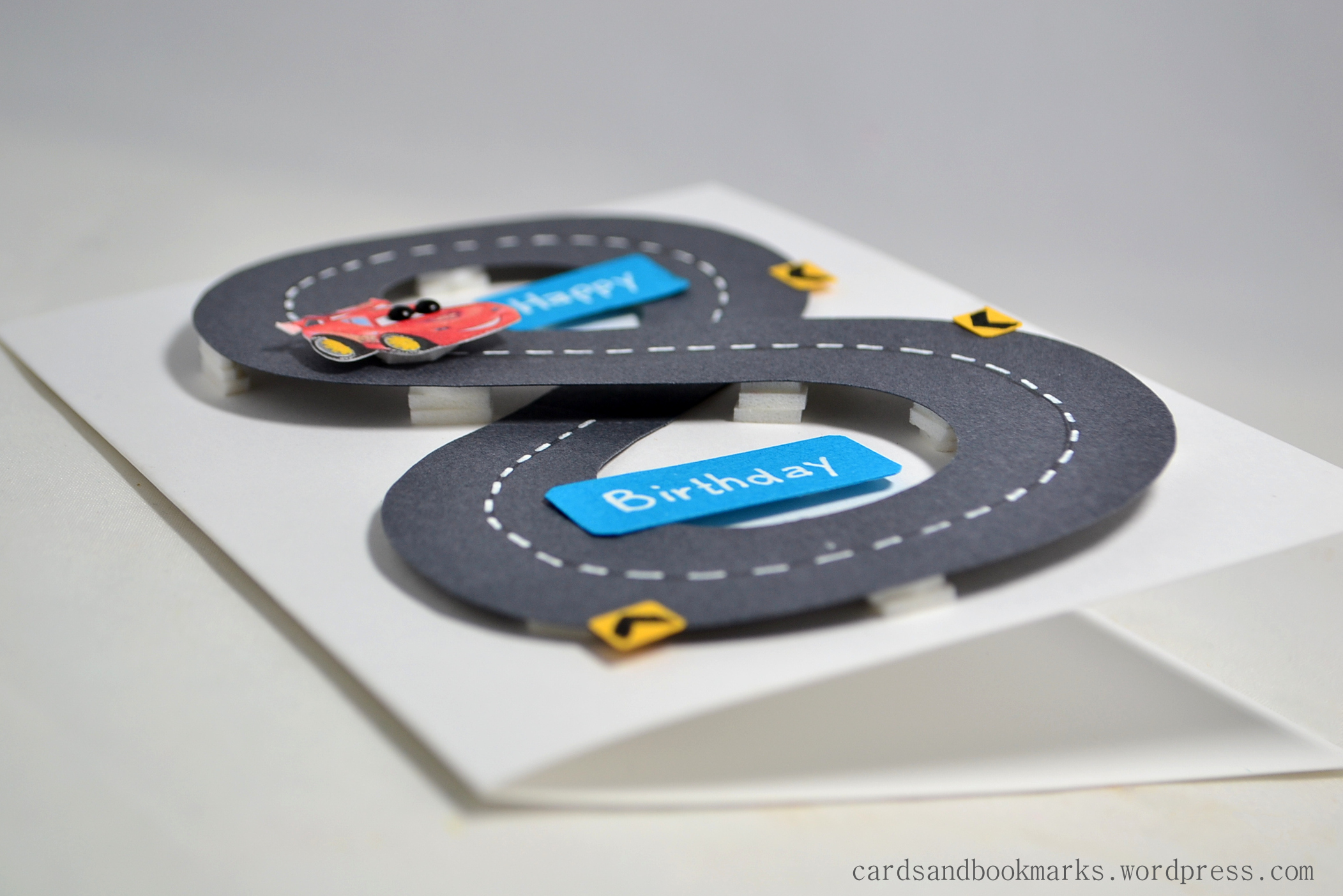 Create it with paper Birthday card – Birthday Cards with Cars