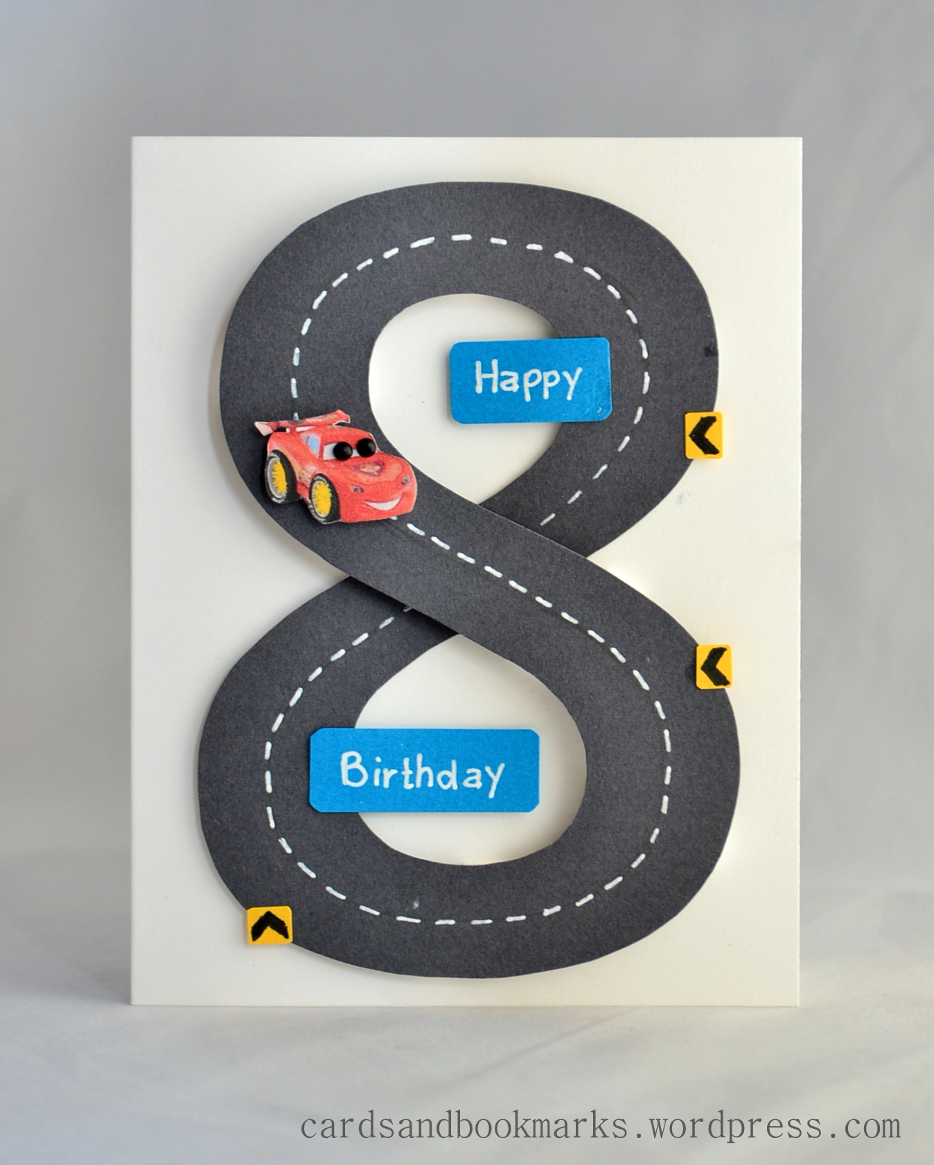 Create it with paper birthday card 8th birthday bookmarktalkfo Images