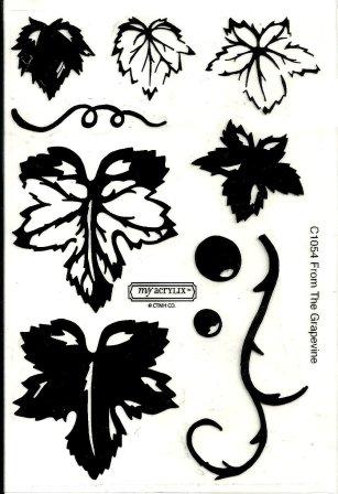 grapevine stamp set