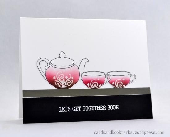 Ombre tea set