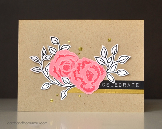 Celebrate-cribbled flowers